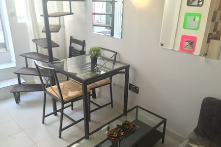 Cozy, Compact 25m2 Duplex With Double Bed - Madrid