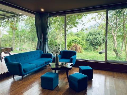 Home of Sim/2 Villa/5 PN/Pool/Karaoke/BBQ garden