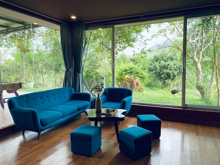 Nhà của Sim/2 Villa/5 PN/Pool/Karaoke/BBQ garden