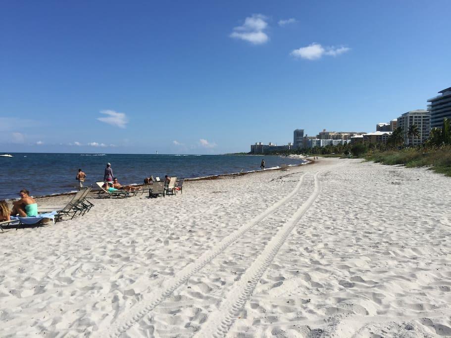 Beach front of Key Colony