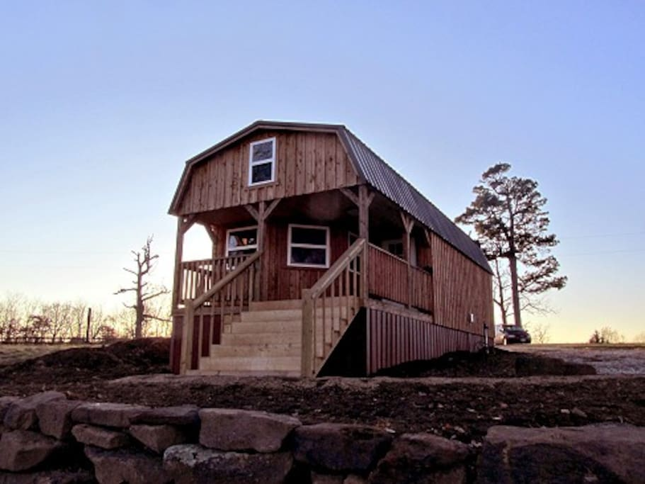 Lost valley view cabin cabins for rent in ponca for Cabins near ponca ar