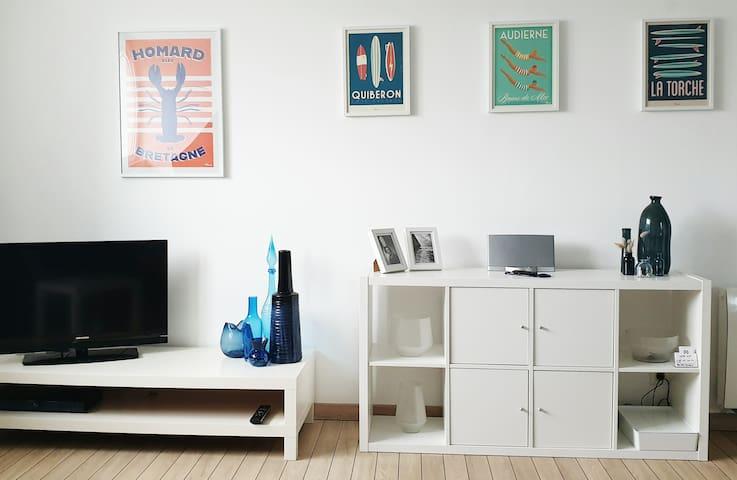 Des jeux de société, des DVD, des livres, des prospectus sur les différentes activités, tout pour que vous passiez le meilleur des séjours.