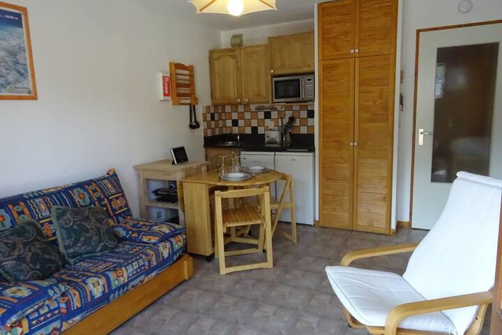 Appartement 2 pièces 4 personnes à Bourg Saint Maurice proche du centre ville et des commerces