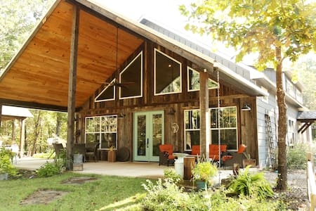 Rustic Timber-Frame Home