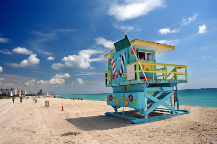 South Beach Top Stay Retreat Across Beach