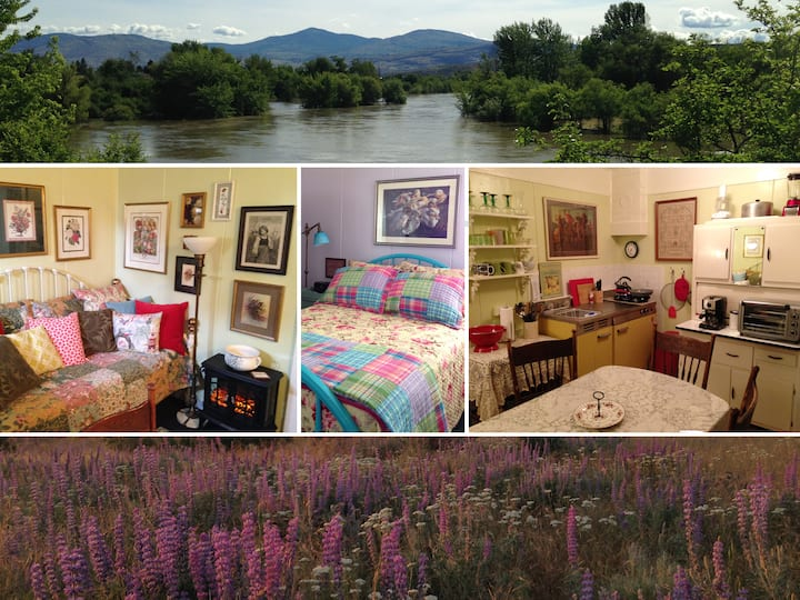 1BR Tamarack Cottage - Okanogan WA (4 mi to Omak)
