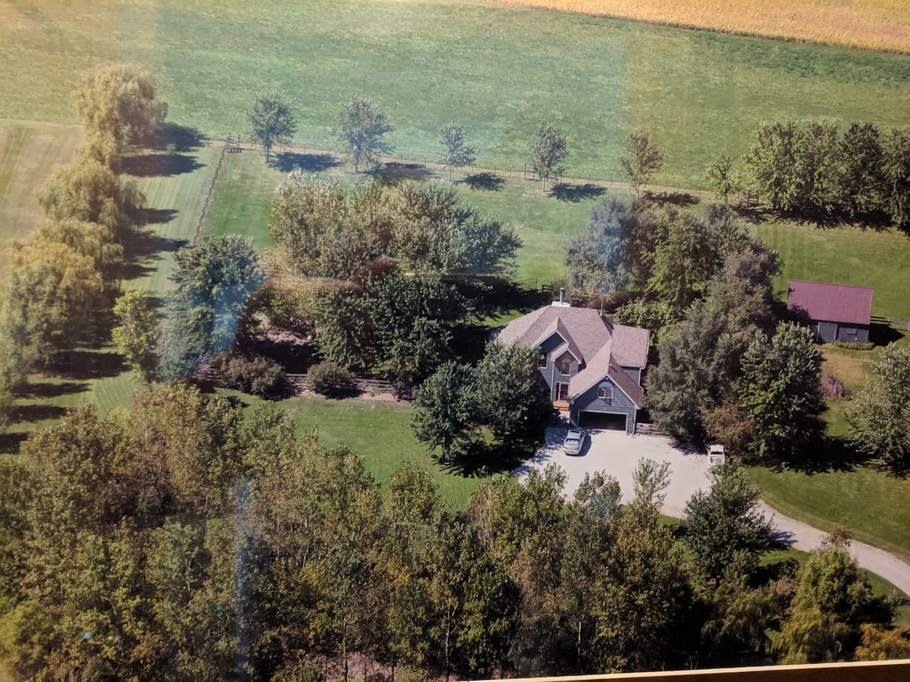 Peaceful Green Acres Quiet Setting