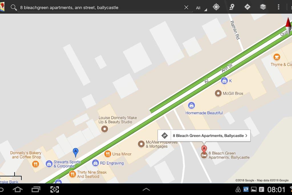 Ann Street location