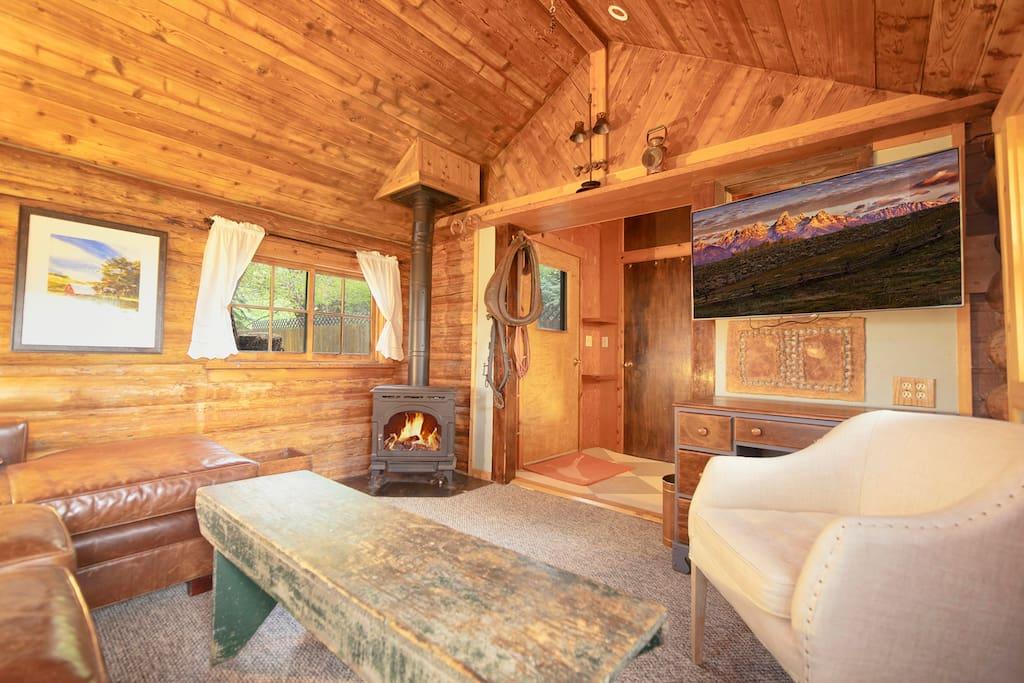 Living Room - Gas Stove