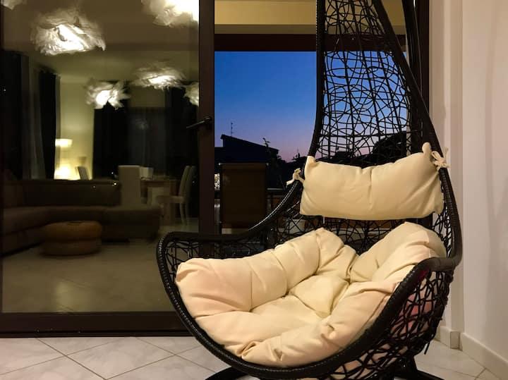Tranquillo Appartamento al Mare comodo e collegato