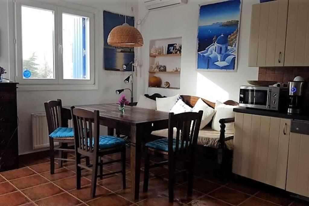 Living room corner- Sitzecke