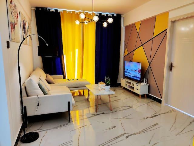 昆明安宁温泉周边北欧温馨小宅2居室整租
