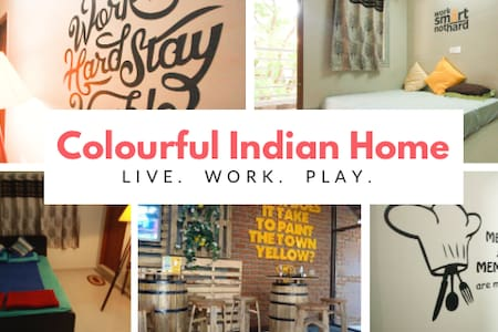 COLOURFUL INDIAN HOME - Bangalore