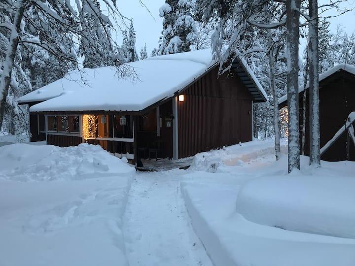 Villa Ylläskoivula/Cottage in Yllas, kolari