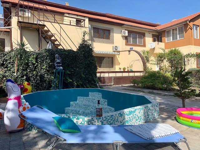 Villa Bogdan o locatie de vis la Marea Neagră