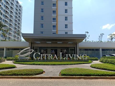Citra Living Apartment,2BR,Cozy Place,Near Airport