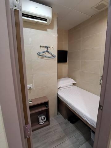 旺角區經濟單人房Budget Single Room@Mong Kok Downtown