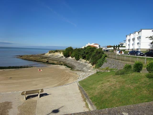 location  en RDJ  petite vue mer - Vaux-sur-Mer - Apartamento