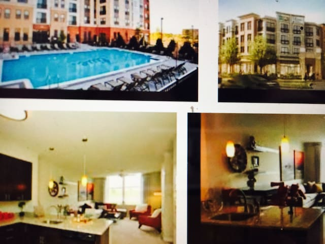 Comfortable (1) One Bedroom - Ashburn - Apartamento