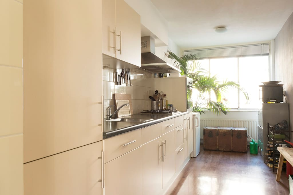 Fully equipped kitchen (shared)