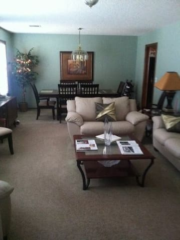 Formal living room and Formal dining room