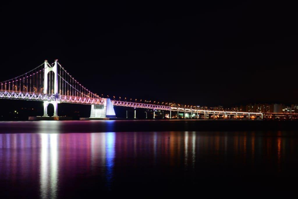 광안대교 자전거 여행 (Gwangandaegyo bridge bike trip)