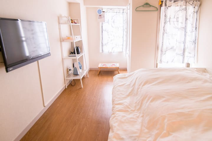 3 mins to Ikebukuro, Central area! - Toshima-ku - Apartmen