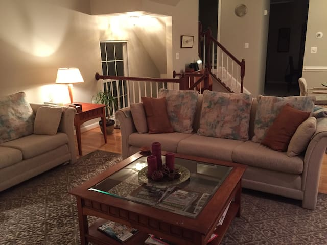 Room and private bath in townhouse - Alexandria - Casa