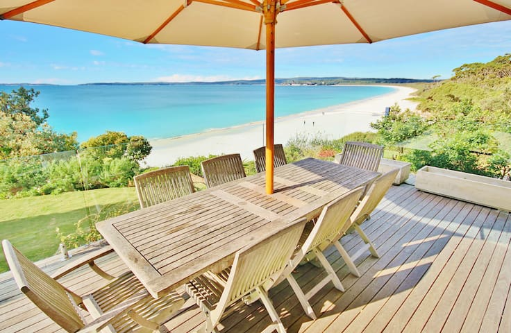 Beachfront at Hyams Beach - Hyams Beach - Huis