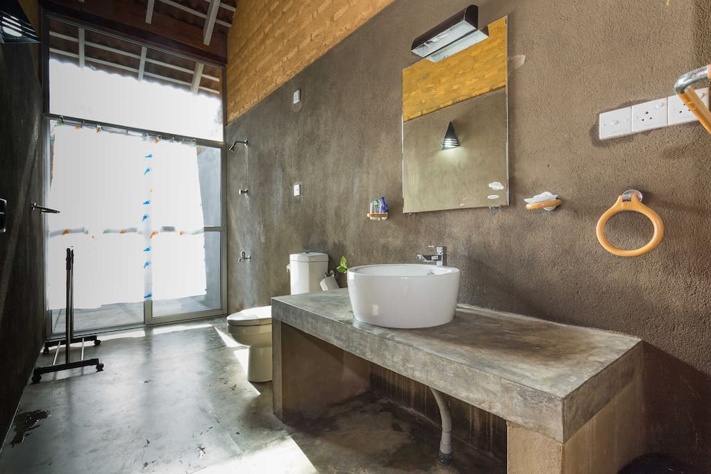 Room private bathroom with shower facilities