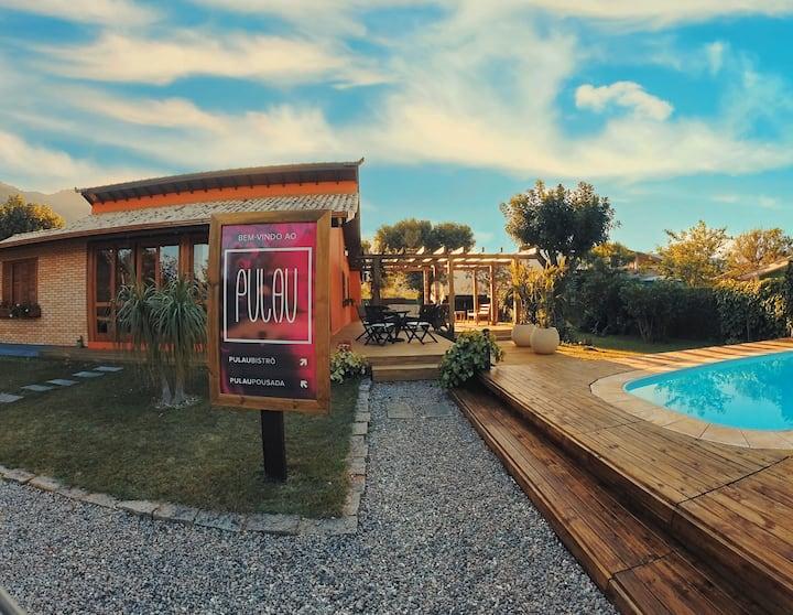 Casa 7 suítes 200 m do mar, piscina, Florianópolis