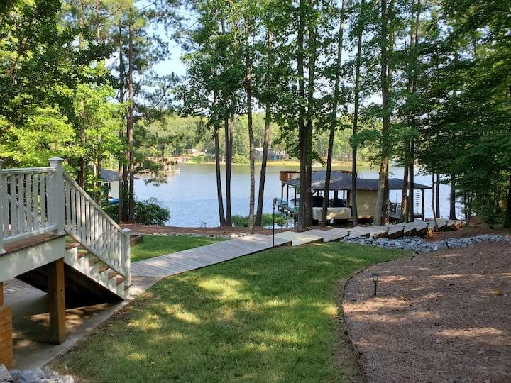 Hart Haven  - PeaHill Creek - Lake Gaston  NICE!