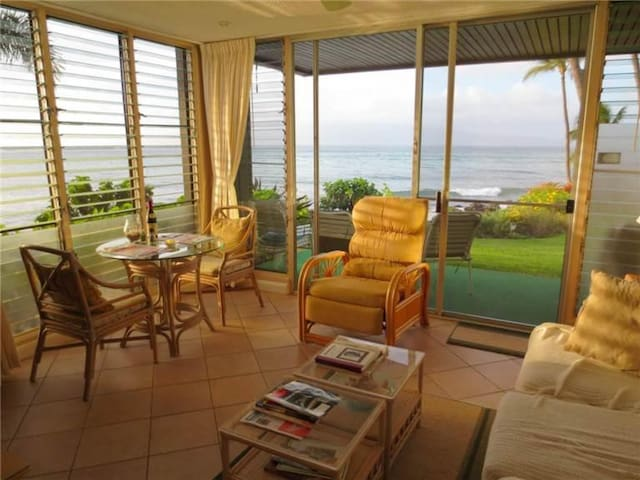Ocean Front - Mahina Surf 128 (One Bedroom One Bath Oceanfront) - Napili-Honokowai