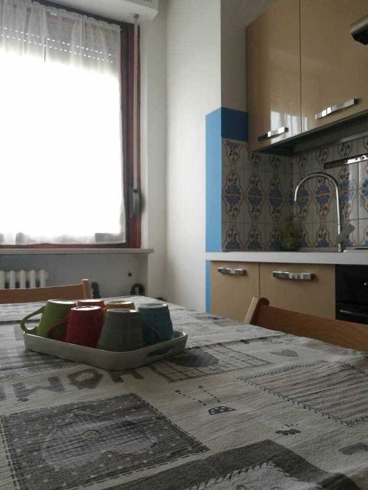 small flat Corso Savona (Asti)