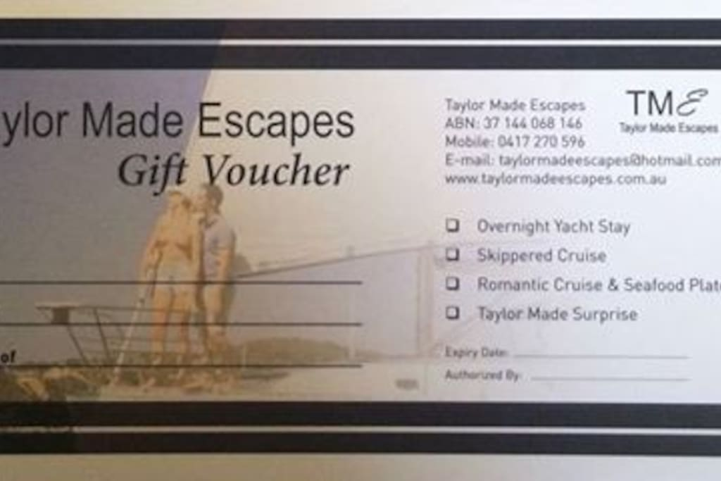 LAUNCH OF OUR PERSONAL GIFT VOUCHERS FOR YOUR SPECIAL SOMEONE!