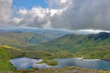 Just some of Snowdonia National Park's unspoilt scenery.