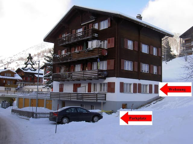 2 1/2 Zimmer Ferienwohnung - Bellwald - อพาร์ทเมนท์