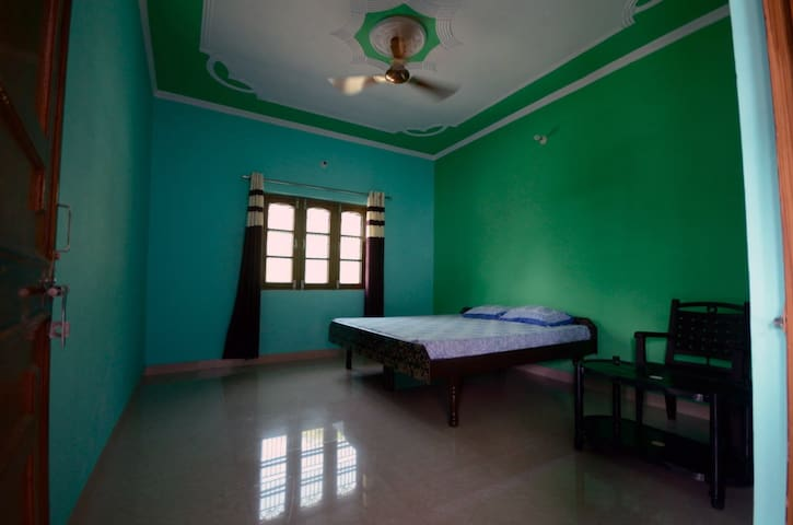 Private Bedroom with attached Kitchen & shared Bathroom