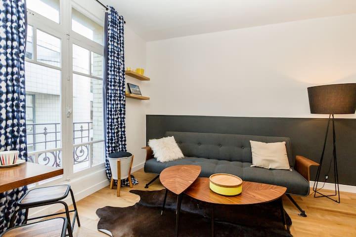Cosy studio near Montparnasse