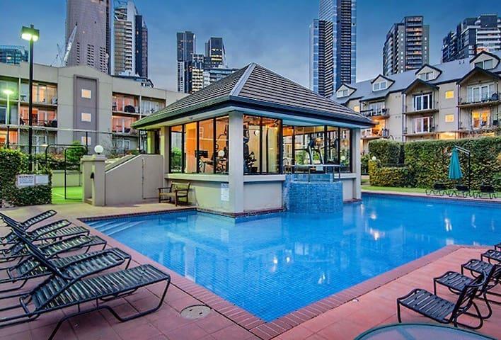 Melbourne Paradise Oasis - Southbank - Apartament