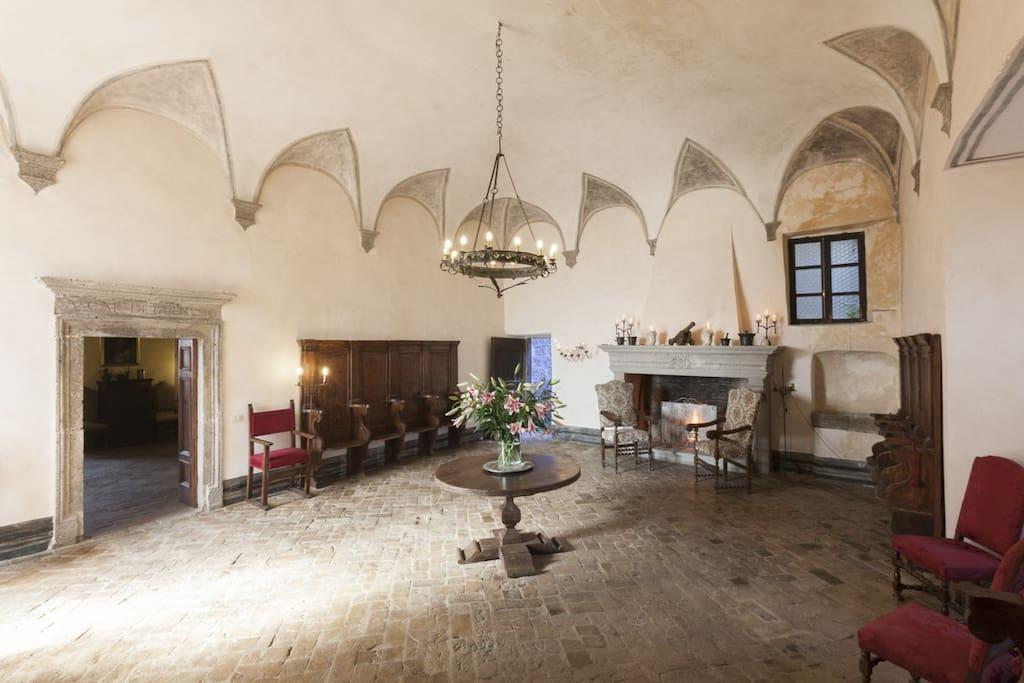 La sala nobile (common area)