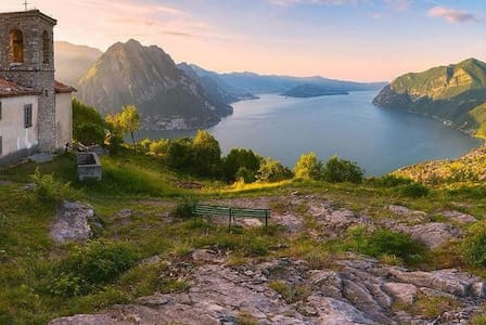 l'Altopiano dei Fiori, Esmate Lago d'Iseo