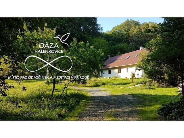 Oáza Halenkovice  - místo pro odpočinek a meditaci