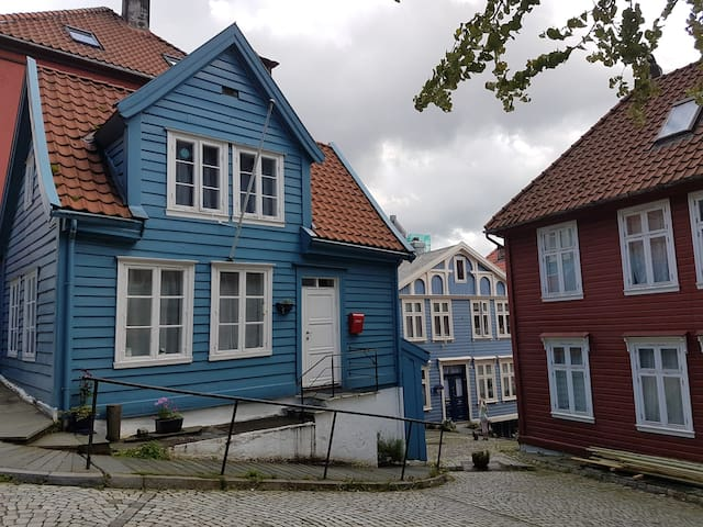 Stay in The Blue House at Nordnes - Bergen - House
