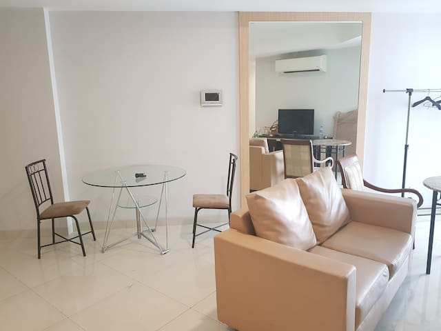 New & Cozy 2BR Apartment in Kemayoran Near JIIEXPO