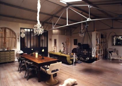 loft of character with a patio - Cachan