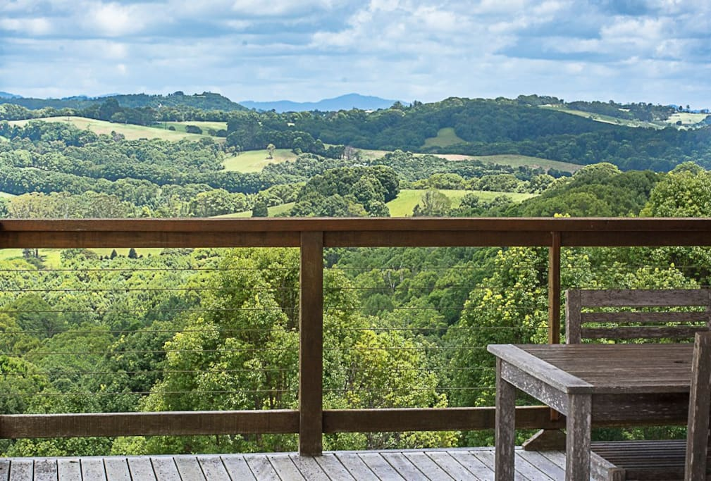 Our bungalows have magnificent views of the surrounding countryside