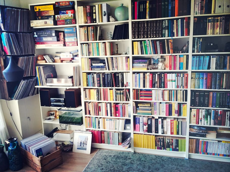 A house without books is like a garden without flowers