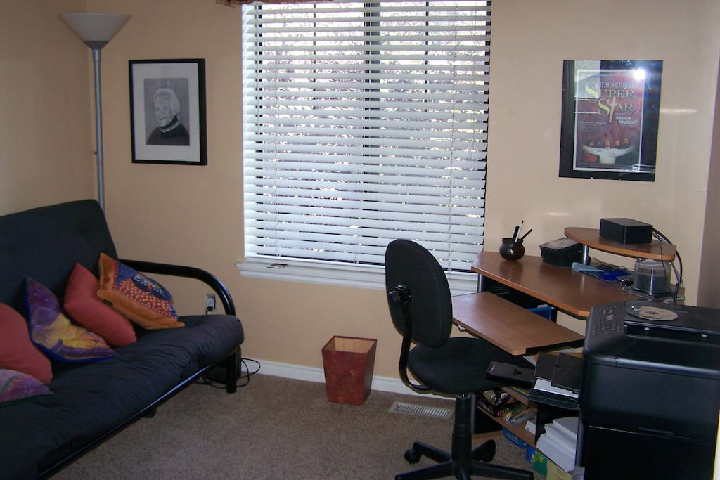 Office shared with guest