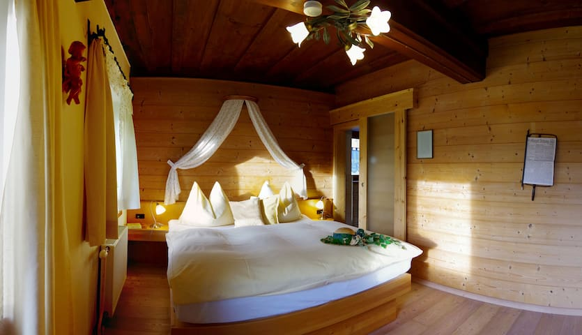 Doppelzimmer am Rafting Camp Palfau